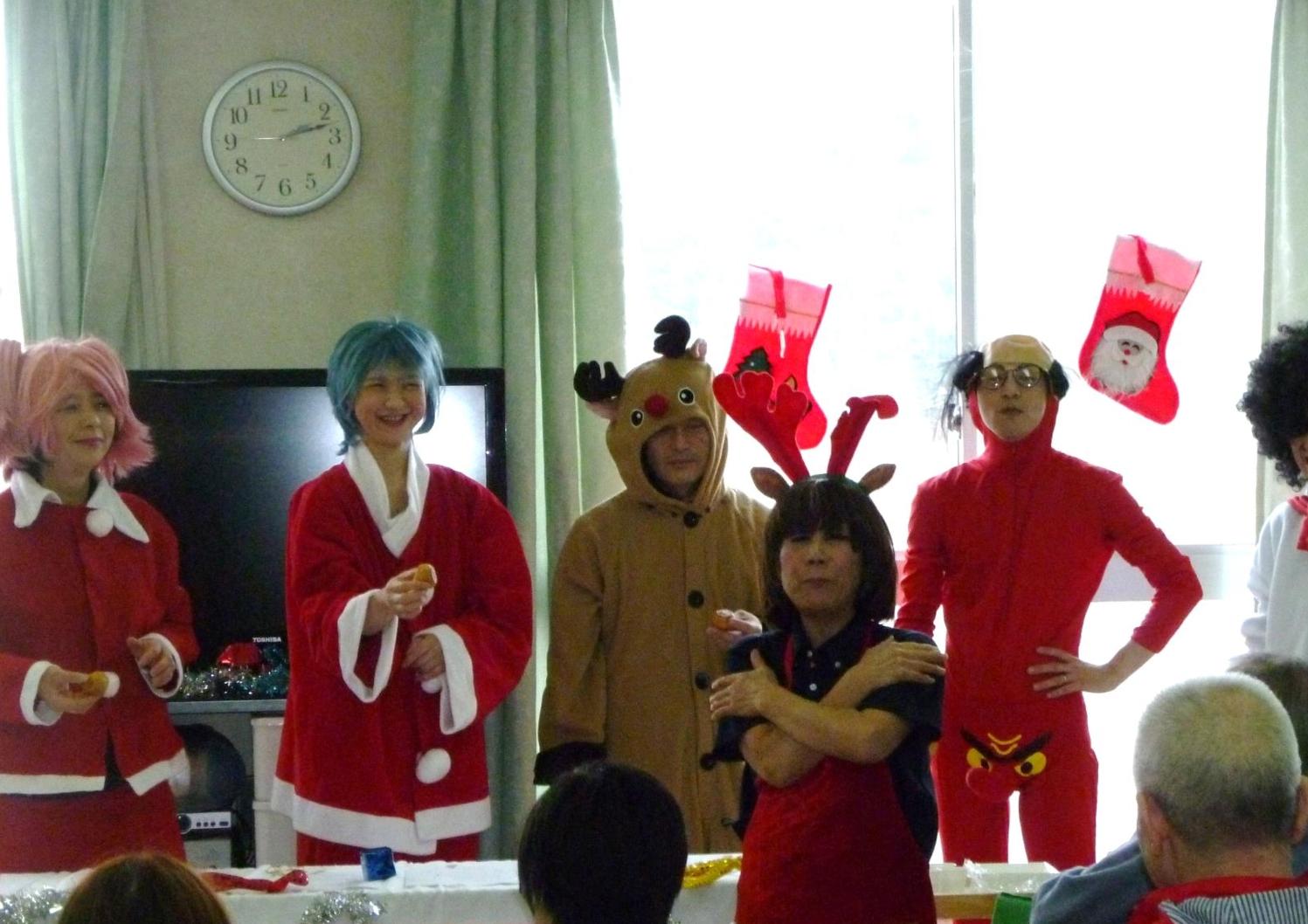 クリスマス会のサムネイル